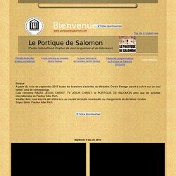 Le Portique de Salomon (Centre International chrétien de salut,de guérison et de délivrance)
