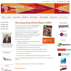 eLearning Africa 2015 / International Conference on ICT for Development, Education and Training.