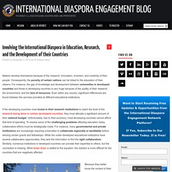 International Diaspora Involved in Education, Research, Development