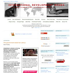 International Development Issues