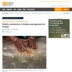 Dublin conference: A bottom-up approach - Devex