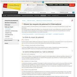 Les moyens de paiement à l'international - Sud de France Développement