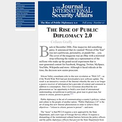 The Rise of Public Diplomacy 2.0