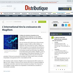 L'international tire la croissance de Magillem