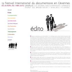 Festival international du documentaire en Cévennes