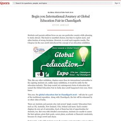 Begin you International Journey at Global Education Fair in Chandigarh