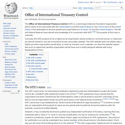 Office of International Treasury Control
