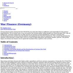 International Encyclopedia of the First World War (WW1)