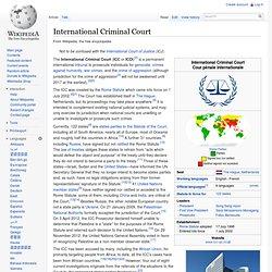ICC Wiki Summary
