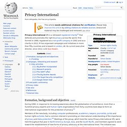 Privacy International