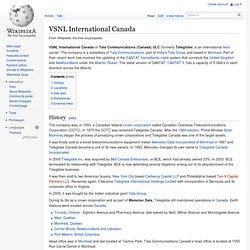 VSNL International Canada