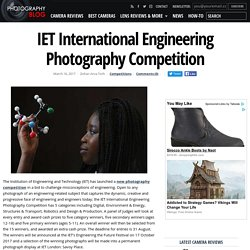IET International Engineering Photography Competition