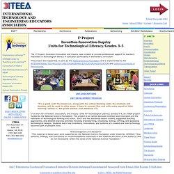 INTERNATIONAL TECHNOLOGY AND ENGINEERING EDUCATORS ASSOCIATION