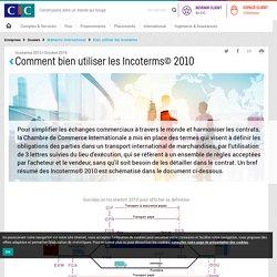 Mémento international : Bien utiliser les incoterms 2010 - Dossier