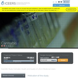 Scientific Study: Cannabis // ICEERS - International Center for Ethnobotanical Education, Research & Services