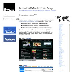 International TV Explorer [Beta] - Global Internet TV Portals & Online Video Players