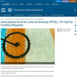 International Fund for Cultural Diversity (IFCD)