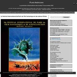 Le festival international de Paris du film fantastique et de science-fiction - Plans Américains : le cinéma américain des années 70