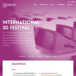 International 3D Festival
