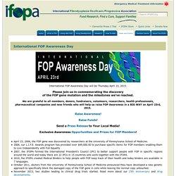 International FOP Awareness Day