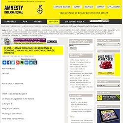 Chine-Hong Kong : Les autorités doivent libérer les sympathisants des manifestants