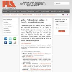 Fla consultants - Veille à l'international : les bases de données généralistes payantes