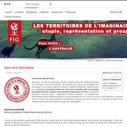 Salon de la Géomatique du FIG : exemples d'activités