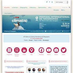 Festival International de Géographie - Géographie