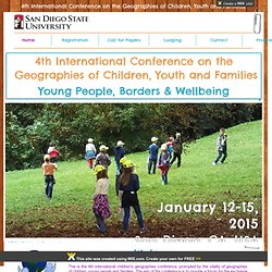 4th International Children's Geographies Conference