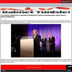 TUNISIE prix 2015 ICG