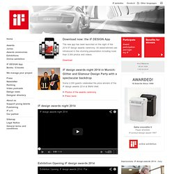 iF - International Forum Design Hannover: Homepage