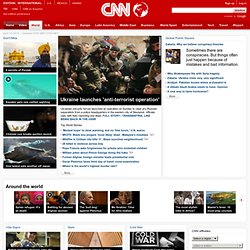 World News - International Headlines, Stories and Video from CNN.com