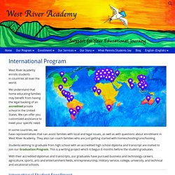 Programa international - West River Academy apoya familias de todo el mundo