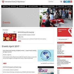 The International Society of Hypertension