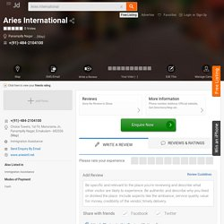 Aries International, Panampilly Nagar, Ernakulam - Immigration Assistance - Justdial