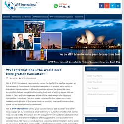 WVP International-The World Best Immigration Consultant