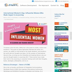 International Women's Day: Influential Women Who Made Impact in eLearning