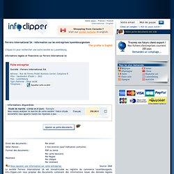 Ferrero International SA - Informations sur les entreprises au Luxembourg