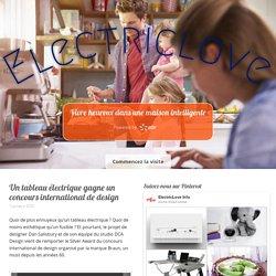 Un tableau électrique gagne un concours international de design - Installation électrique