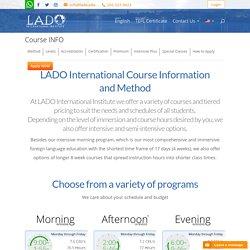 English programs in the USA - LADO International Institute