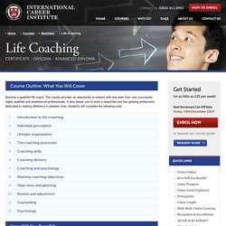 Life Coaching Courses Online – International Career Institute