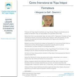 Centre International de Yoga Intégral - Maîtres