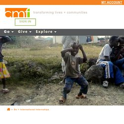 International Internships » CMF International