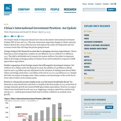 Rhodium Group » China's International Investment Position: An Update