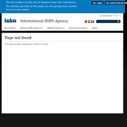 International ISBN Agency