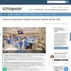 International Laparoscopic Surgery training in USA