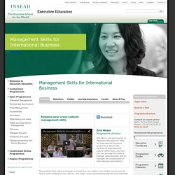 International Business Management Course