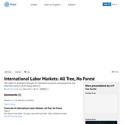 International Labor Markets: All Tree, No Forest by Jeff Van Geete on Prezi