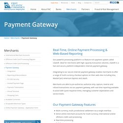 International Payment Gateways for Offshore Multi Currency Merchants
