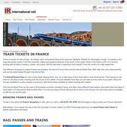 Affordable Train Tickets for France at International Rail